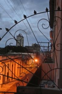 Evening in Vedado havana