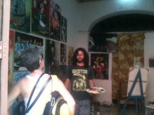 Cuban Artist Trinidad