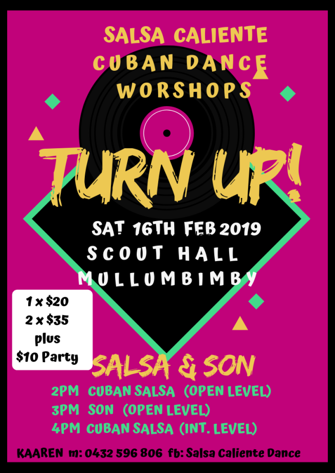 SALSA CALIENTE CUBAN DANCE WORSHOPS (1)